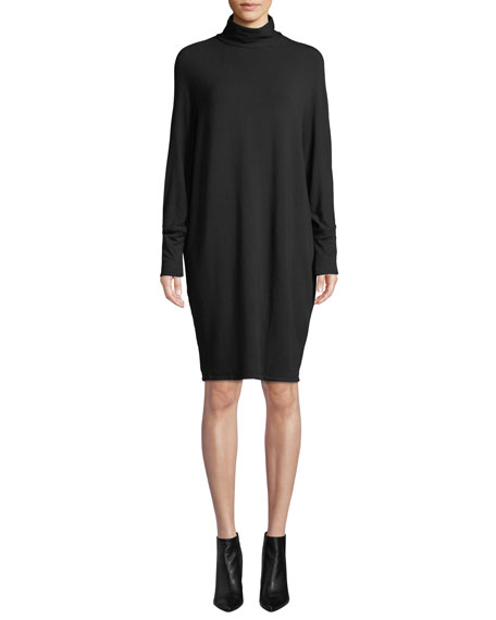 Majestic Paris for Neiman Marcus Long-Sleeve Cowl-Neck French