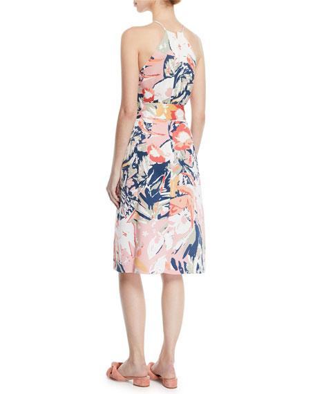 Scharpettah Floral-Print Halter Dress