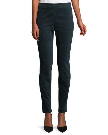 High-Waist Skinny-Leg Oslo Corduroy Leggings