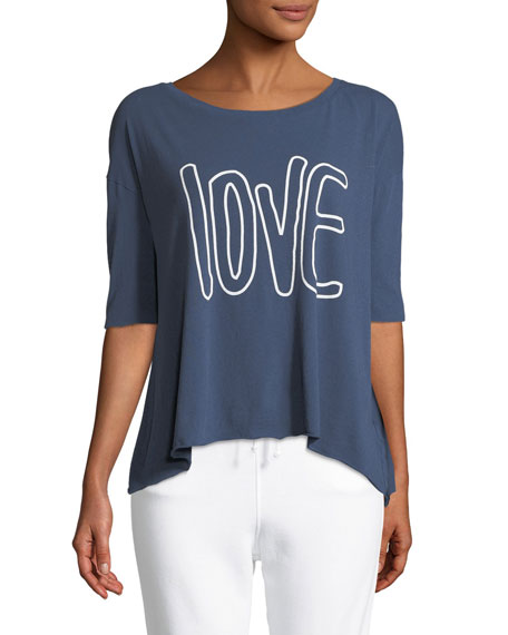 Frank & Eileen Tee Lab Core Love Scoop-Neck