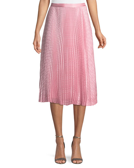 Bethina Pleated Midi Skirt