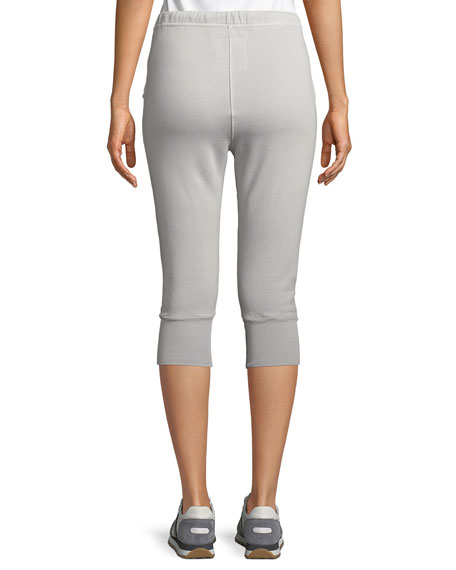 Cropped Skinny Sweatpants