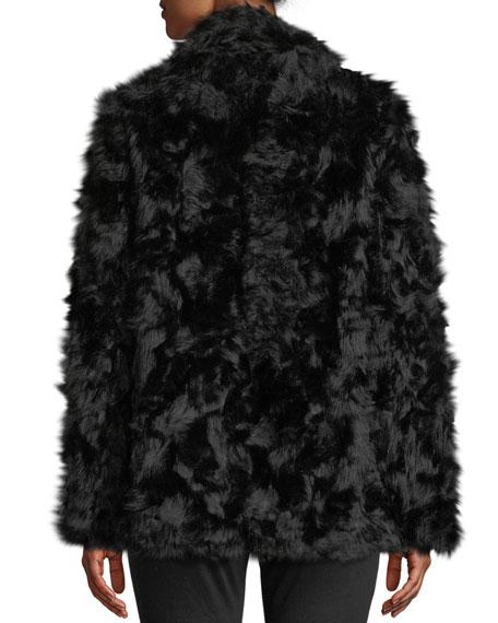 Clairene Jackson Faux-Fur Jacket
