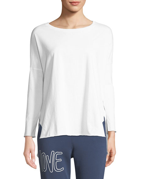 Frank & Eileen Tee Lab Relaxed Long-Sleeve High-Low