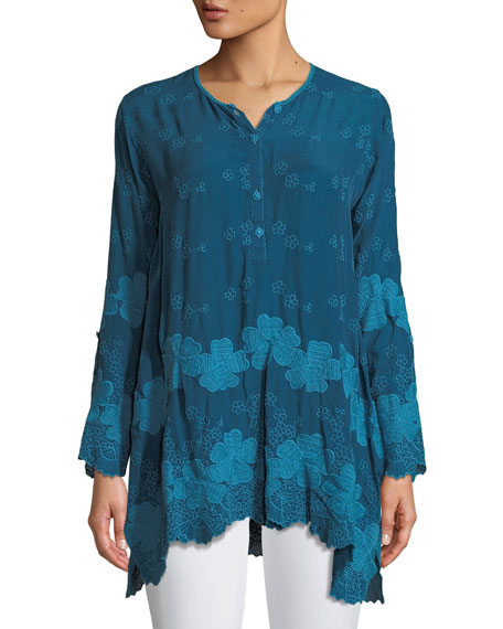 Johnny Was Fanya Rayon Georgette Tunic