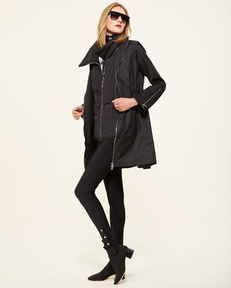 Farreta Zip-Front Lightweight Windproof Jacket