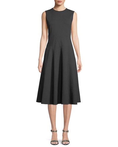 Topenga Sleeveless Dress in Punto Milano