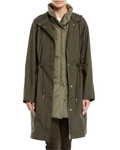 Jamyson Terrace Tech-Cloth Jacket