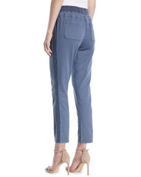 Garment-Dye Twill Pants, Petite