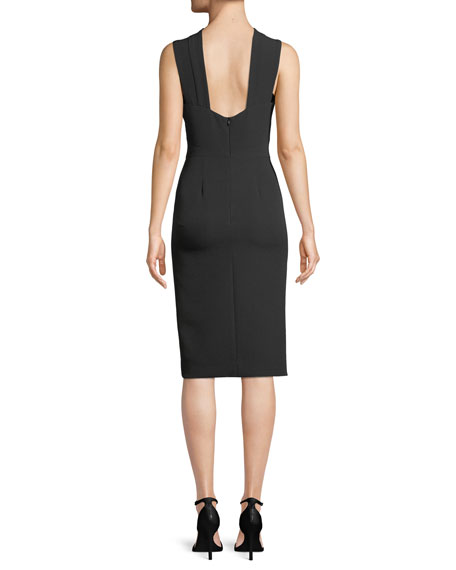 Charlie Open-Back Sheath Dress