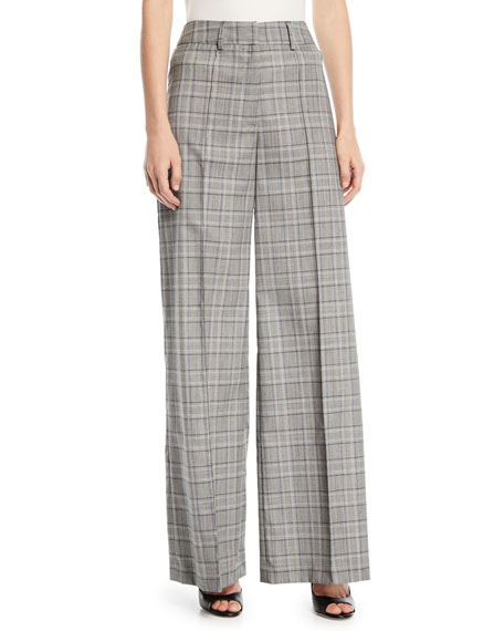 Milly Hayden Italian-Stretch Suiting Pants