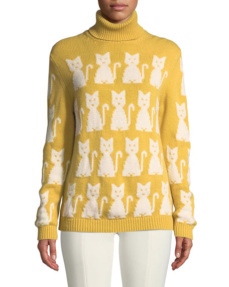 Turtleneck Cat Sweater