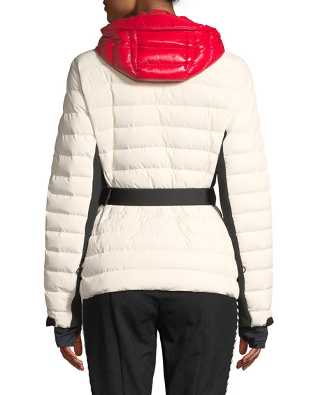 Bruche Channel-Quilted Puffer Coat