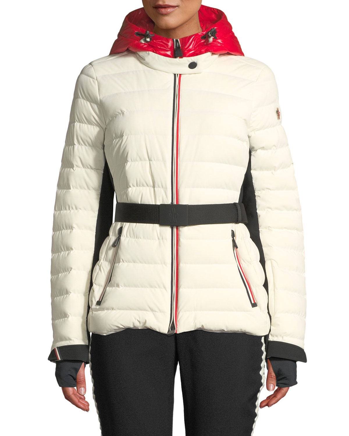 c7a316bd2436c Moncler Grenoble Bruche Channel-Quilted Puffer Coat