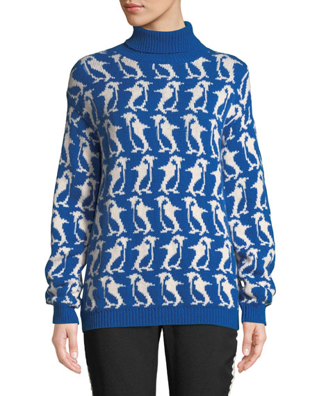 Penguin Turtleneck Sweater