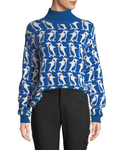 Moncler Grenoble Penguin Turtleneck Sweater and Matching Items