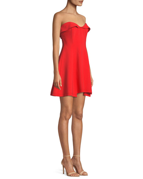 Ani Strapless Sweetheart Mini Dress