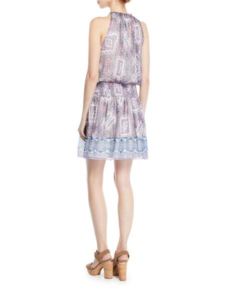 Aditi Sleeveless Halter Dress