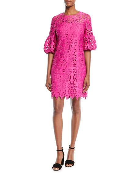 Vina Lace Dress w/ Bell Sleeves