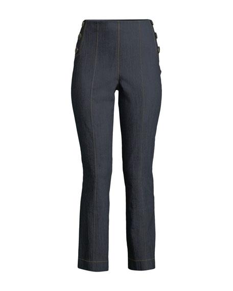 Tous Les Jours Chantal Straight-Leg Denim Pants