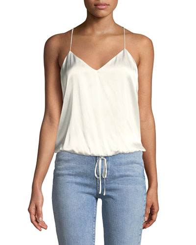 The Larsen Silk Racerback Cami