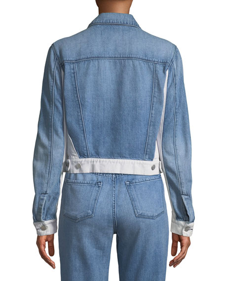 Harlow Shrunken Denim Jacket