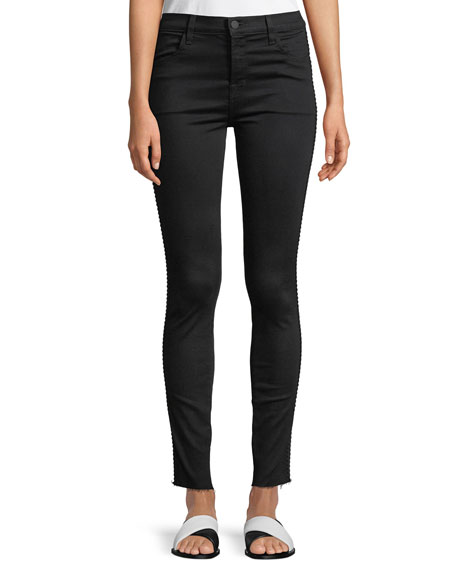 J Brand Maria High-Rise Super Skinny Jeans with