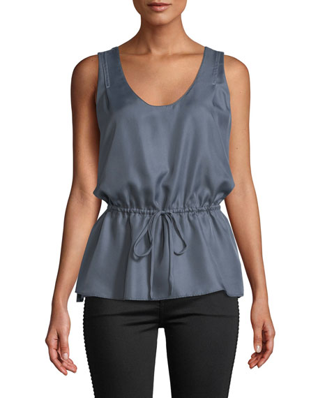 Meadow Sleeveless Cinched Top