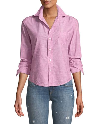 Barry Long-Sleeve Button-Front Shirt