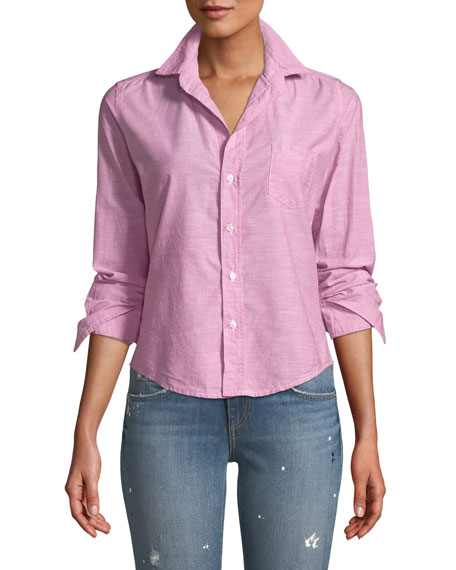 Frank & Eileen Barry Long-Sleeve Button-Front Shirt