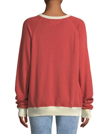 The Baseball College Pullover Sweatshirt
