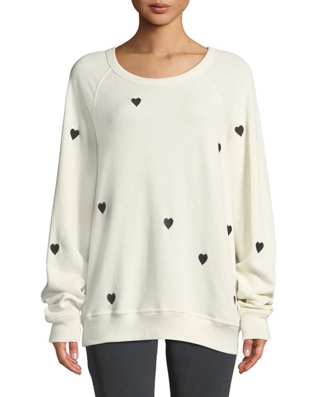 The College Embroidered Sweatshirt