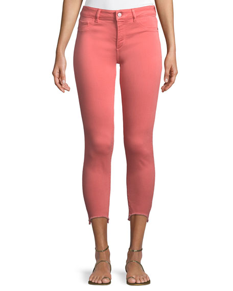 DL 1961 Florence Instasculpt Cropped Skinny Jeans