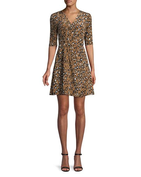New Savilla Silk Mini Dress