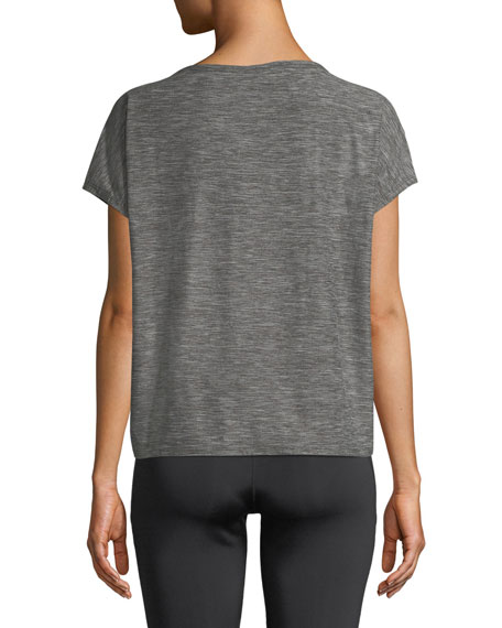 Emerson Activewear Twisted T-Shirt Top