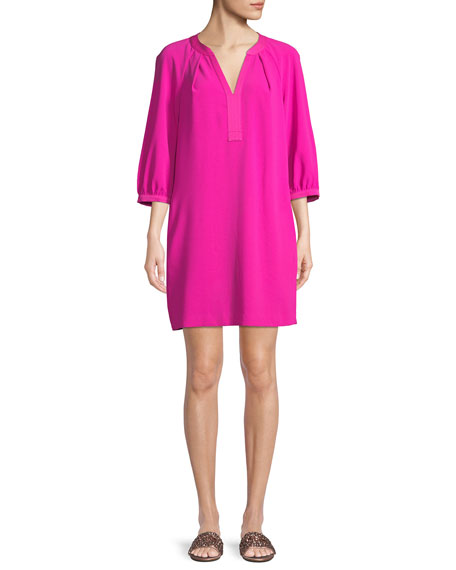 California Dreaming Pipkin Shift Dress in Pink