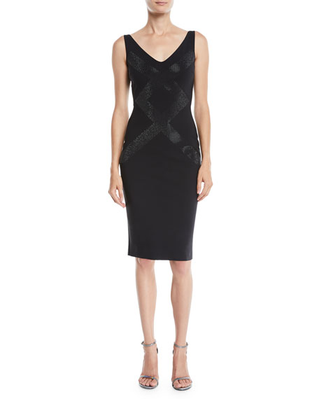 Chiara Boni La Petite Robe Dallas Sleeveless V-Neck
