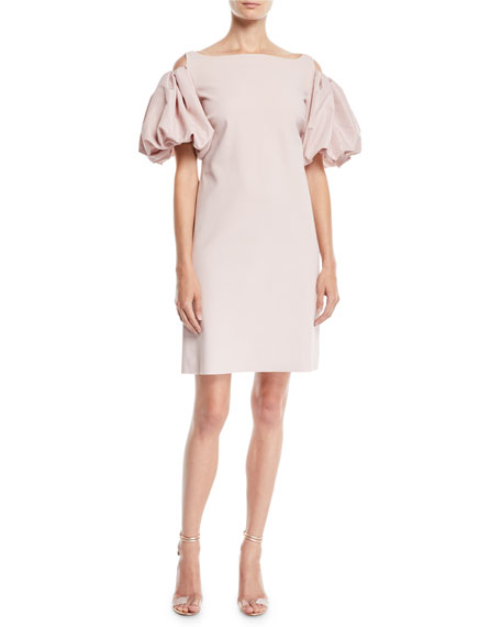 Chiara Boni La Petite Robe Isla Cold-Shoulder Dress