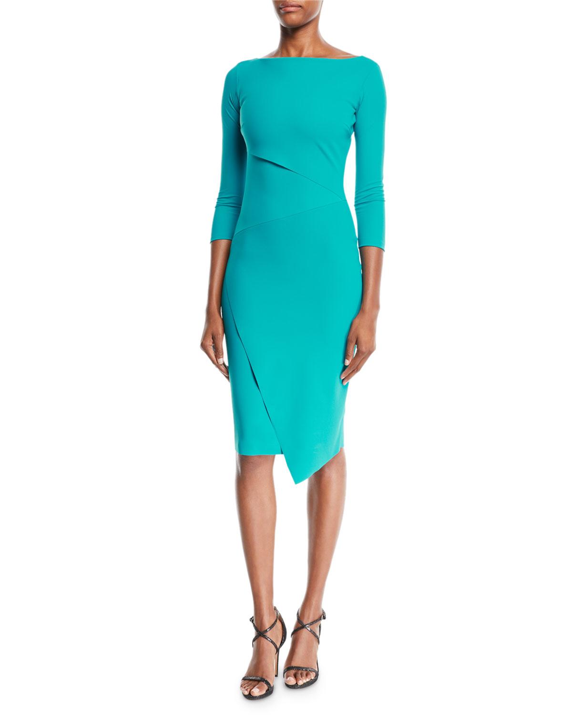 Chiara Boni La Petite RobeAitana Body-Con Dress w  Asymmetric Details a6ed9910ea1c