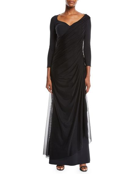 Chiara Boni La Petite Robe Amaia Ruched Gown