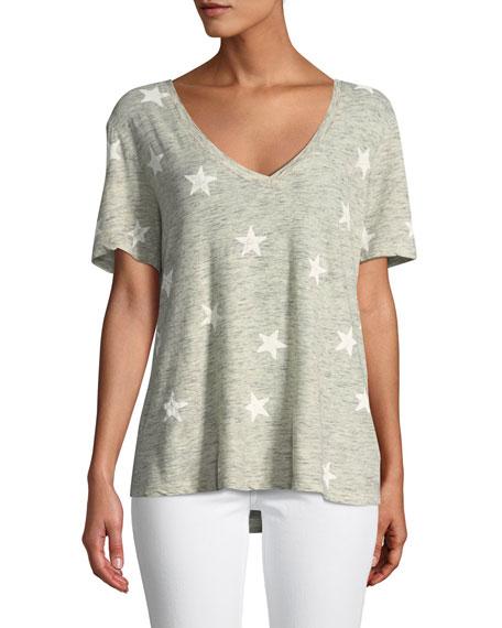 Splendid Liberty Star Cotton T-Shirt
