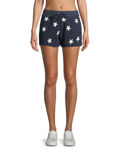 Splendid Liberty Star Activewear Shorts