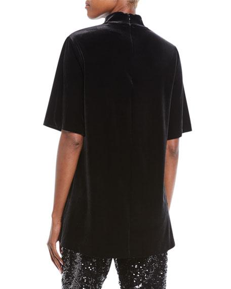 Velvet Choker Tunic, Plus Size