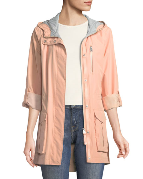 Hailie Rain Jacket w/ Hood