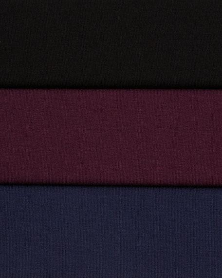 Bateau-Neck Jersey Tunic