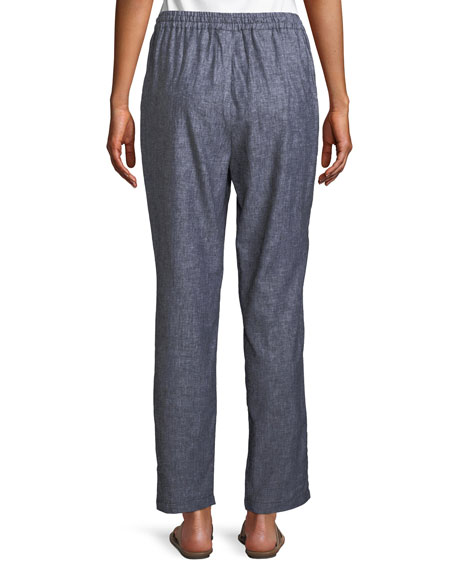 Pemmy Linen Herringbone Trousers