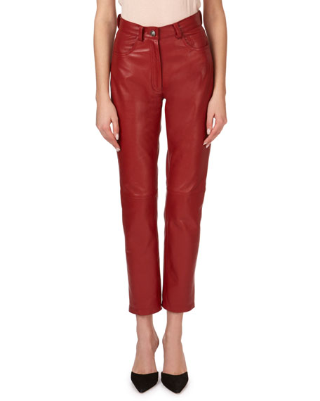 Magda Butrym Evansville Leather Pants