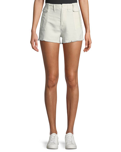 Marylou Frayed Cutoff Shorts