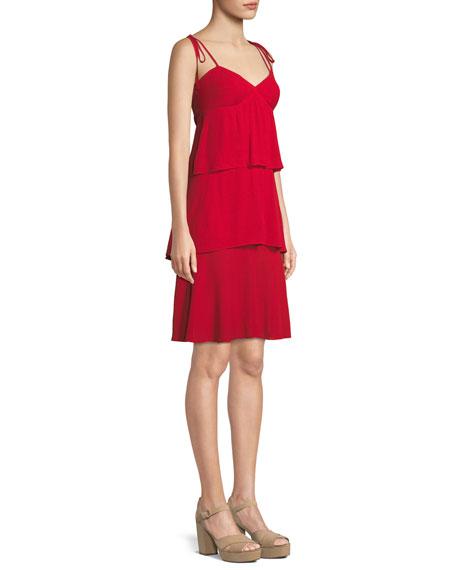 Gaerwen Tiered Sleeveless Dress