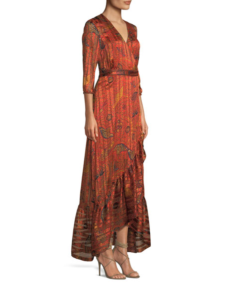 Disy Printed Maxi Dress